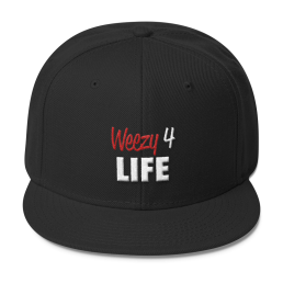 weezy for life lil wayne snapback black