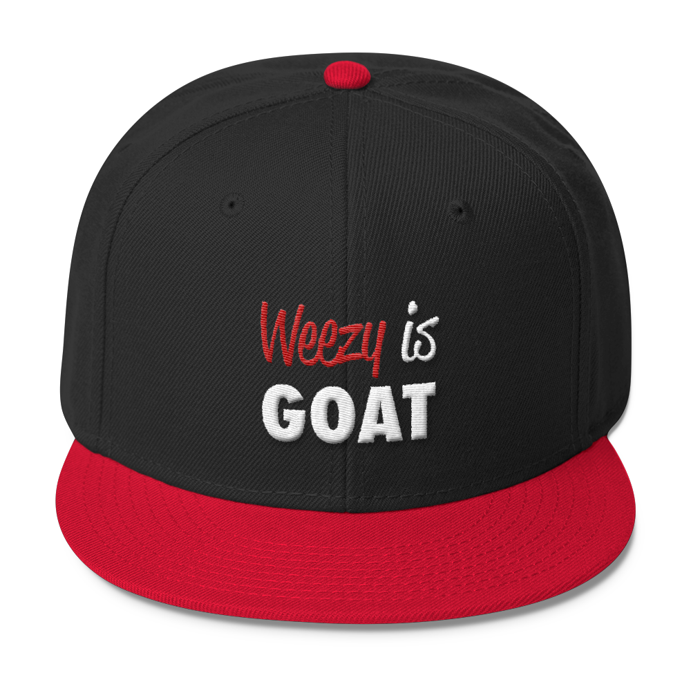 Weezy is GOAT Wool Blend Snapback  7a35aab79b3