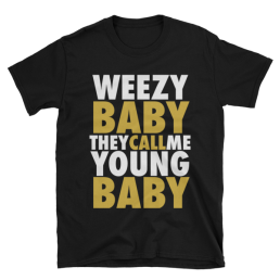 Lil Wayne T-Shirt Weezy Baby Young Baby