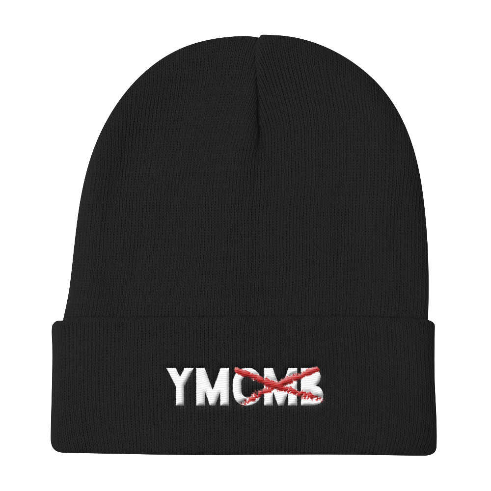 Lil Wayne Beanie No More YMCMB Black